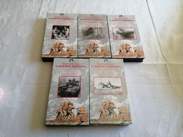 II Guerra Mundial Cassetes VHS