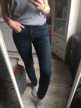 Spodnie jeansy granatowe Levi's 511 W28 L32 unisex 36 S 38 M