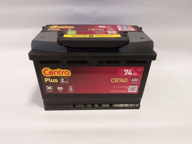 Akumulator Centra 12V CB740 74Ah 680A P+