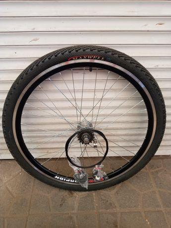Вело колёса 20.24.26.28 дюймов двойной обод на планетарной втулке 3 ск