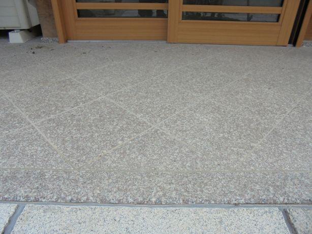 Płytki Granit Płytka G664 Królewski Brąz płomieniowany 60x60x1,5