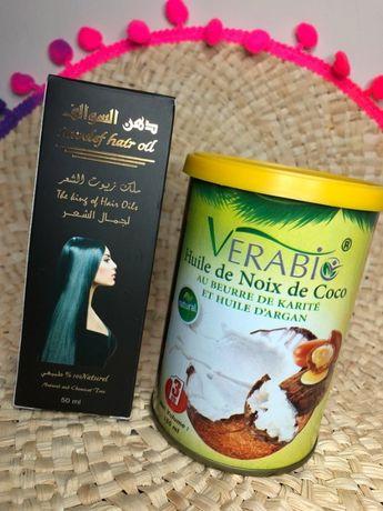 Olej arganowy i maska 3w1 tunezyjska pielęgnacja włosów i ciała