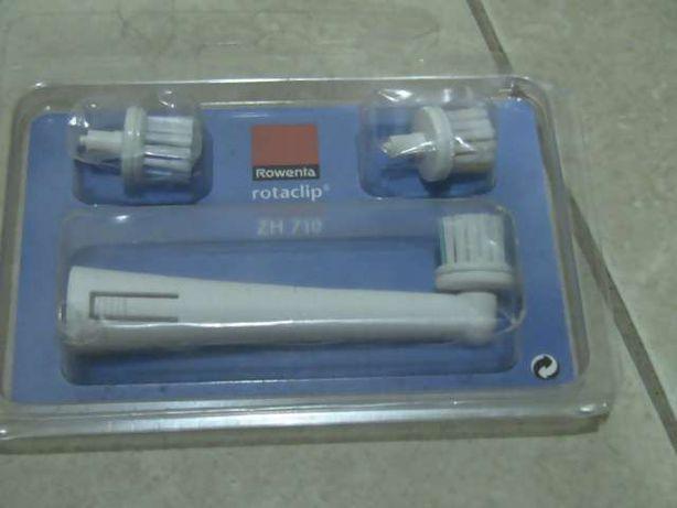 Carregador e escova de dentes da rowenta