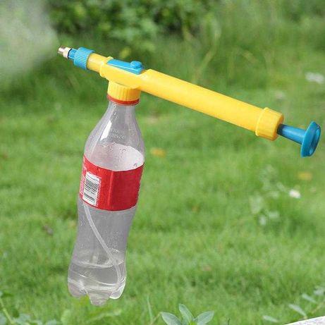 Опрыскиватель спрей насос ручной на бутылку пляшку Распылитель