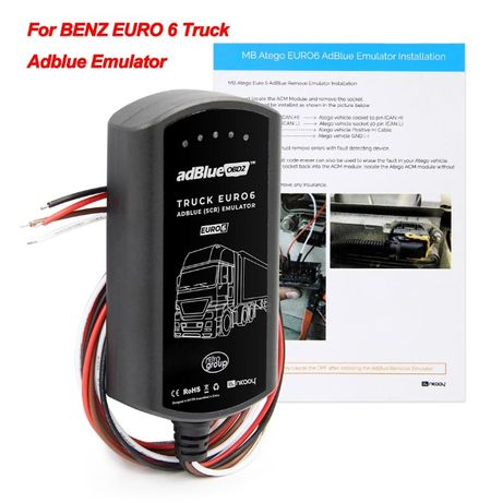 ADBlue эмулятор EURO 6 Mercedes/DAF/Scania/Iveco