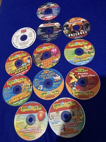 Cyber Mycha, Komputer świat, Świat gier, PC World Computer - gry na CD