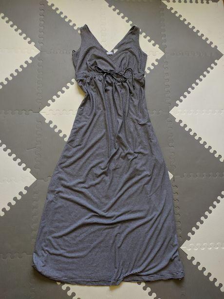 Długa sukienka ciążowa bonprix,  rozm. 36/38