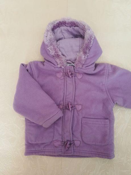 Куртка флісова демісезонна весна-осінь на 1-1.5 роки