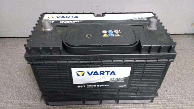 Akumulator Varta H17 105Ah 800A Koparka Caterpillar Kraków Azory