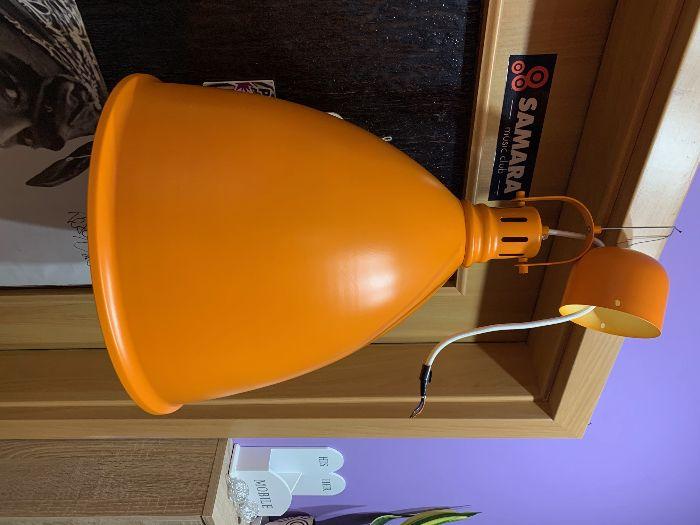 lampa wisząca pomarańczowa żarówka 12W 3000K Warm White Gdynia - image 1