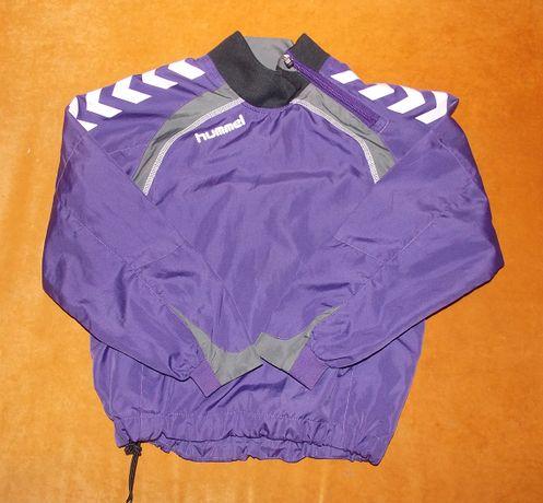Спорт.мастерка, куртка фирмы Hummel на 6-7 лет. Унисекс