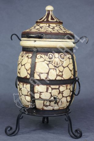 Tandyr , Tandoor piec, grill KAMIEŃ