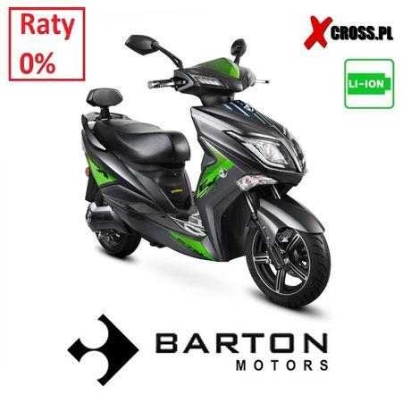 Duży Skuter Elektryczny Barton E-MAX 1800W Li-on Raty 0%