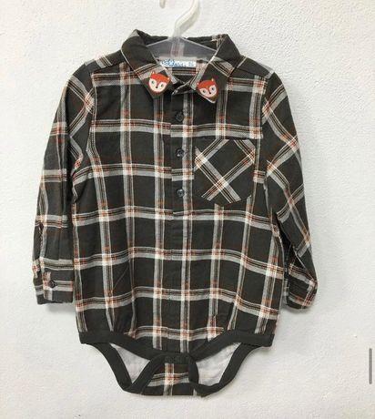 Байкова сорочка (боді) для хлопчика