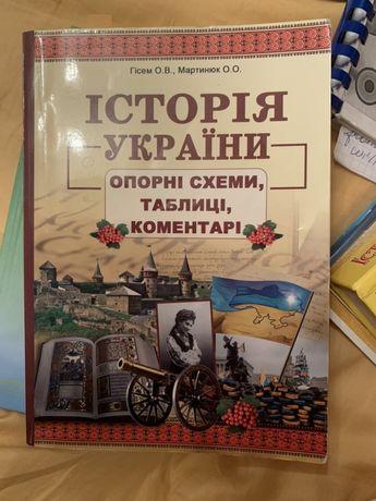 Книга для підготовки до ЗНО/ДПА. Історія України у схемах і таблицях