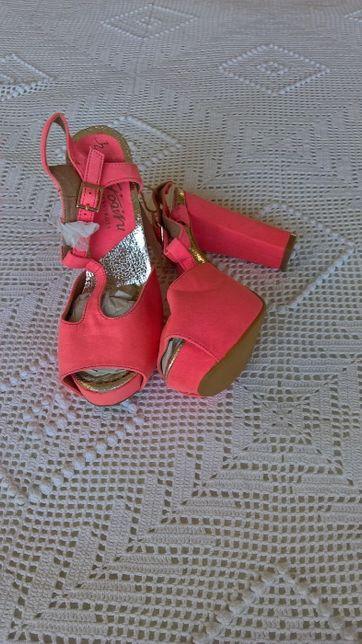 sandalias para senhora