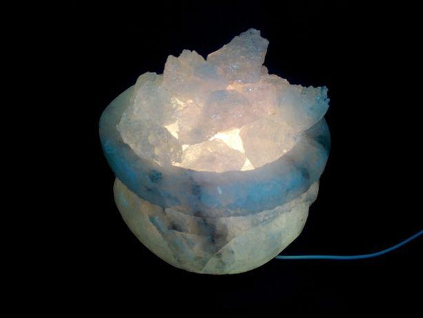 Соляная лампа Чаша 6-8 кг Соляной светильник .ночник