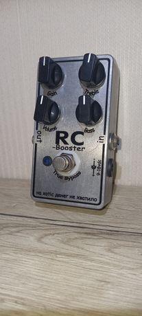 Гитарная педаль RC booster (клон)