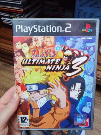 PS2, Naruto Ultimate Ninja, PlayStation, gra naruto, Anime