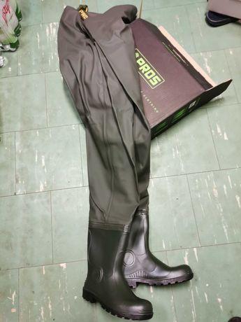 Spodniobuty SB01 PLAVITEX HD700 OLIWKA r45