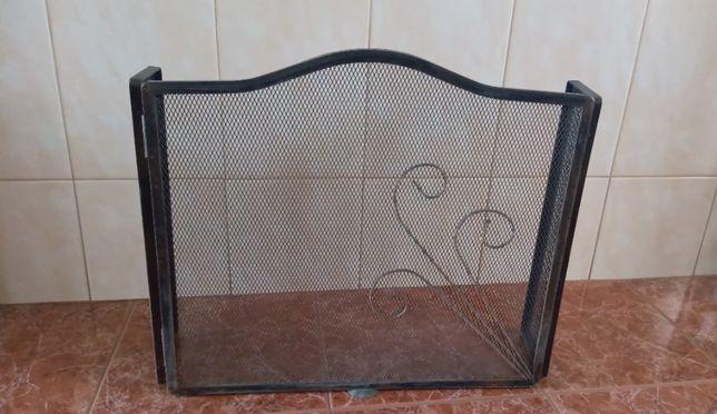 Frente para lareira muito resistente c/material de excelente qualidade