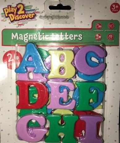 Magnetyczne literki