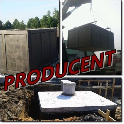 Zbiorniki na szamba SZAMBO betonowe tanio 12m3 TANIO