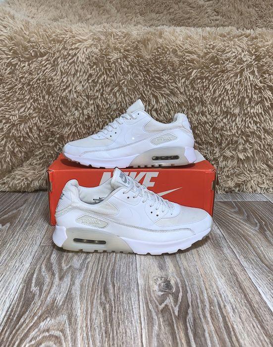 Кроссовки Nike Air Max 90 Essential. 42. 27 см. Белые. Кожа. Оригинал Киев - изображение 1