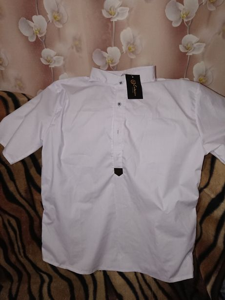 Мужская рубашка 52-54р