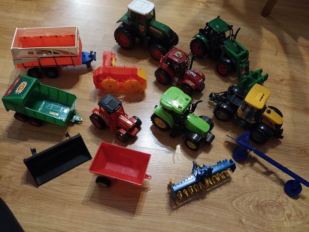 Traktory przyczepy