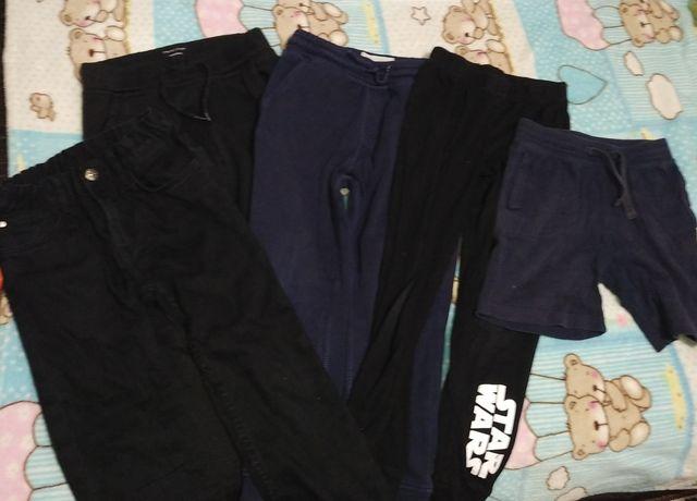Пакет штанов для мальчика 5-6 лет