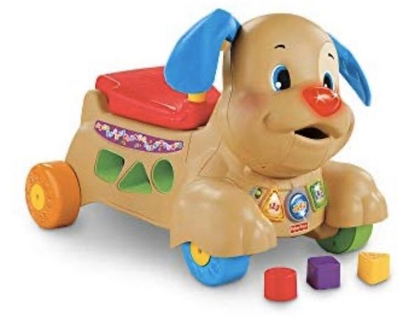 Интерактивная игрушка-ходунки Fisher Price Puppy Walker