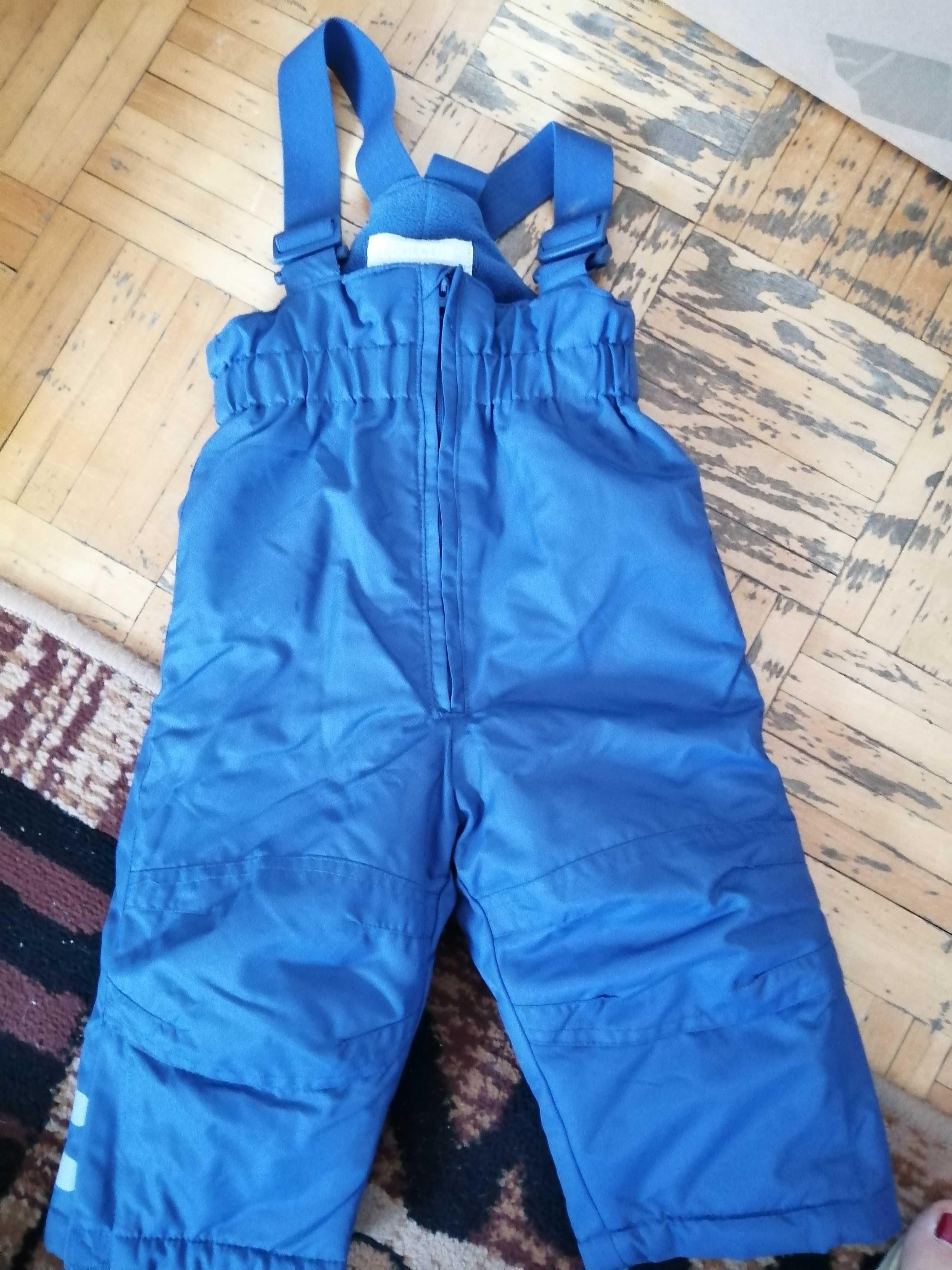 Spodnie zimowe rozm. 74