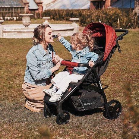 Современная и стильная прогулочная коляска Carrello Maestro