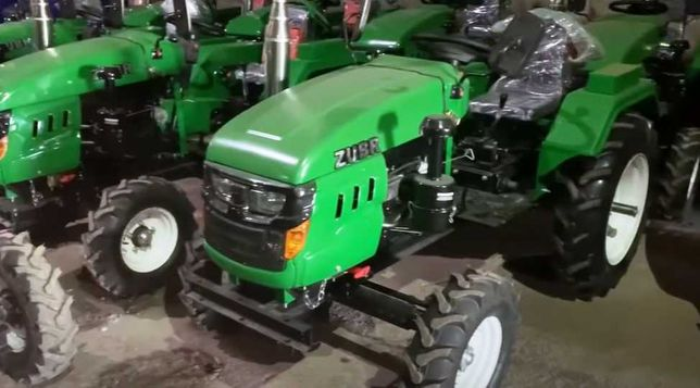 Мінітрактор Зубр Т-245 XL+Фреза+кардан+ВВП 540.Трактор Мототрактор