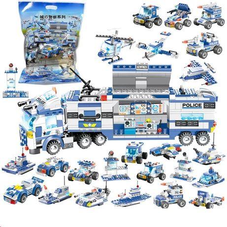 Klocki Policja z LEGO City kompatybilne