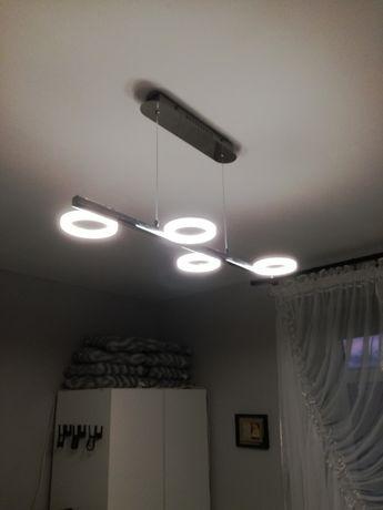Lampa led chromowana