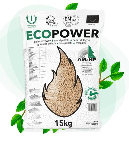 Dostawa GRATIS Pellet EcoPower ENplus-A1 kl. jak Pelleton Olczyk Lava