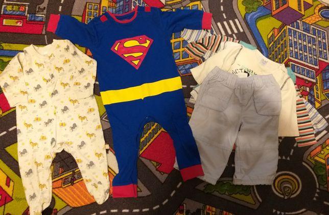 Ubranka dla chłopca  68