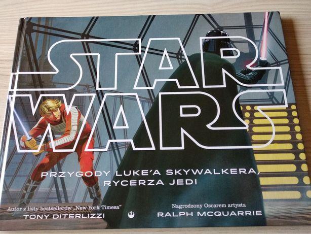 Książka Star Wars - Gwiezdne Wojny, duży format A4, bogato ilustrowana
