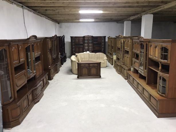 Шикарна Стінка з Масиву, Стенка мебель меблі бу з Німеччини