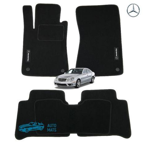 Mercedes E-class W 124 210 211 212 221 текстильные коврики в салон
