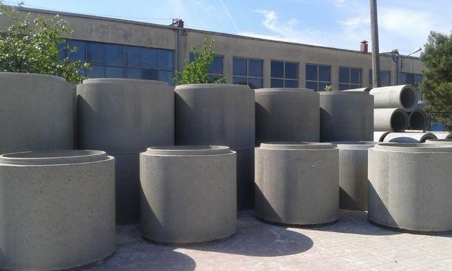 Kręgi betonowe fi 1200, 1000, 500 studnia szambo odwodnienia