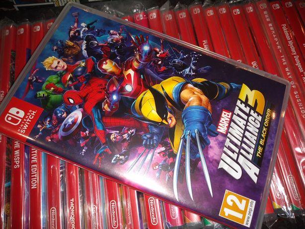 Marvel Ultimate Alliance 3 The Black Order Nintendo Switch kioskzgrami