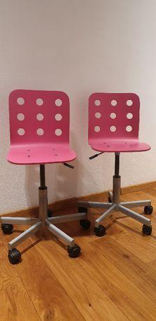 Krzesełko biurkowe dziecięce (x 2)