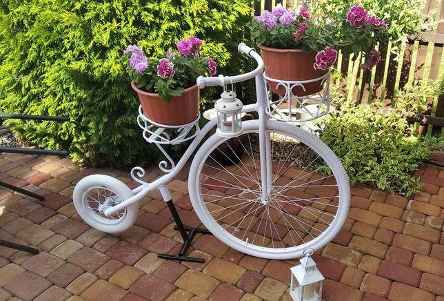 Duży kwietnik rower bicykl