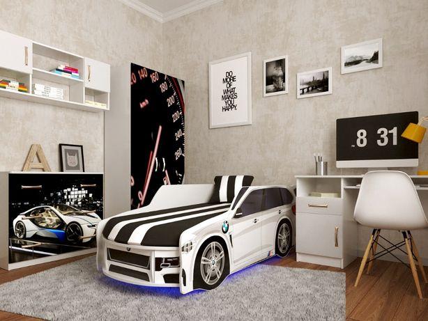 Безкоштовна доставка \ Ліжко машина для хлопчика / Кровать машина