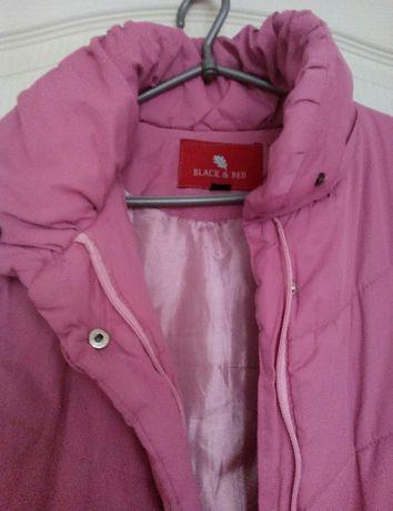 Пуховик зимний розовый, пальто, шуба, плащ, куртка