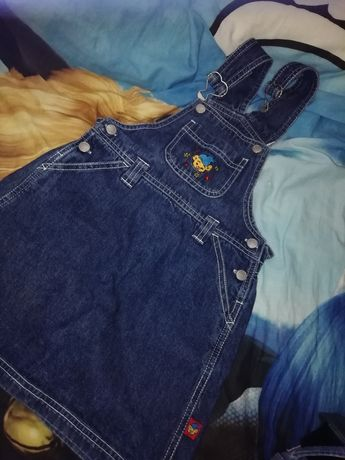 Sukienka jeans 104 110