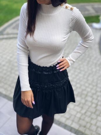 Sweterek damski prazkowany